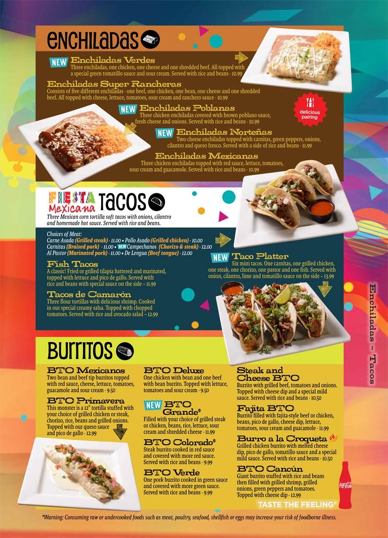 Enchiladas Tacos Burritos